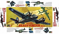 Revell Bristol Beaufighter Mk IF 1972