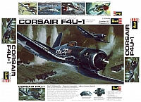 Revell Vought F4U-1 Corsair 1970