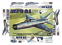 Revell Mikoyan Mig21 1974