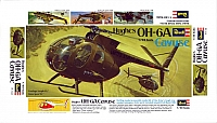 Revell Hughes OH-6A Cayuse 1970