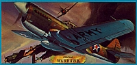 Revell Curtiss P-40 Warhawk 1963