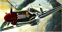 Revell North American P-51B Mustang first release 1969