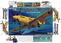 Revell North American P-51D Bob Hoover 1974
