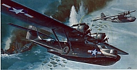 Revell Consolidated PBY-5A Catalina Black Cat 1969