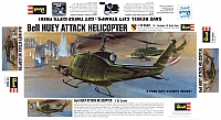 Revell Bell UH-1 Huey Attack 1967