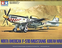 Tamiya NAA F-51D Mustang Korean War