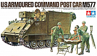Tamiya M577 US Armoured Command Post Car