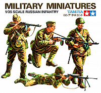 Tamiya MM Russian Infantry