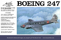Williams Brothers Boeing 247 1st Box