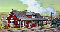 Small Town Train Station Rev-T9001-960