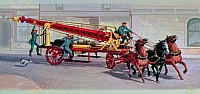 American LaFrance Firefighter Water Tower Rev-H706