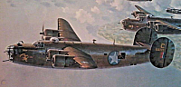 Convair B-24 1990-aviation-art-keith-ferris-hand-960