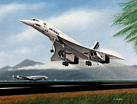 BAC-Aerospatiale Concorde Air France & Lockheed Connie-960