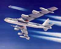 Boeing B-52 Stratofortress with Hound Dog missiles-960