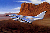 Convair B-58 Hustler faster that a speeding bullet-960