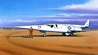 Douglas X-3 Stiletto by Mike Machat-960