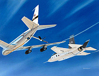 Lockheed X-35 with Boeing KC-135 by Mike Machat-960
